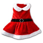 Petco Holiday Mrs. Claus Dress For Dogs X Small