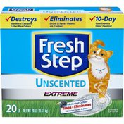 Fresh Step Cat Litter, Scoopable, Extreme, Unscented