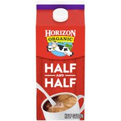 Horizon Organic Half &Half, 1.89 L