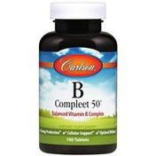 Carlson Labs B-Compleet 50