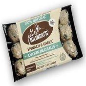 Bilinski's Sausage Spinach & Garlic Chicken Meatballs