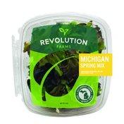 Revolution Farms Michigan Spring Mix