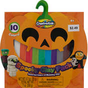 Creative Kids Modeling Clay, Assorted Colors, Ages 4+