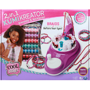 Cool Maker Toy, Kumi Kreator, 2 in 1, Bracelets & Necklaces