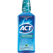 ACT Mouthwash, Anticavity Fluoride, Cool Mint