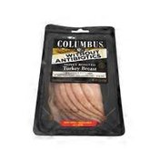 Columbus Abf Sliced Honey Roasted Turkey Breast