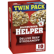Hamburger Helper Deluxe Beef Stroganoff Twin Pack