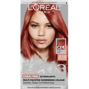 L'Oreal Hair Color, Coral Pink, CP1