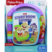 Fisher-Price Story Book Rhymes, 6-36 Months