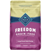Blue Buffalo Freedom Grain Free Natural Adult Large Breed Dry Dog Food, Beef