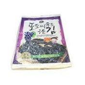 Choripdong Grape Seed Oil Roasted Seasoned Seaweed Pack