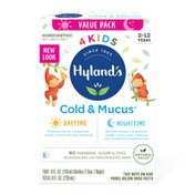 Hyland's 4 Kids Cold 'n Mucus, Day/Night Value Pack