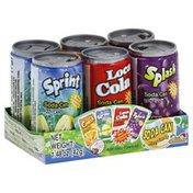 Kidsmania Fizzy Candy, Soda Can