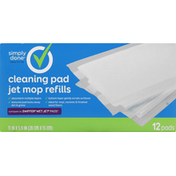 Simply Done Jet Mop Refills, Cleaning Pad