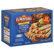El Monterey Taquitos, Flour Tortillas, Chicken & Cheese, Family Value Pack