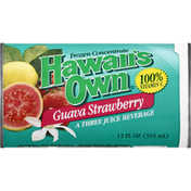 Hawaiis Own Juice Beverage, Guava Strawberry