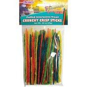 Brown's Puffed Interactive Treat Crunchy Crisp Sticks
