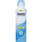 Arrid Renew Ultra-Clear Dry Spray Arrid Renew Ultra-Clear Dry Spray Antiperspirant Deodorant