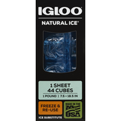 Igloo Ice Substitute, 44 Cubes