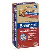 Balance Bar Bare Chocolate Almond Nutrition Bars - 15 CT