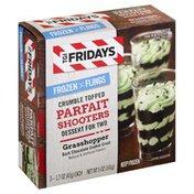 TGI Fridays Parfait Shooters, Crumble Topped, Grasshopper