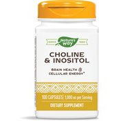 Nature's Way Choline & Inositol Enhanced Absorption Capsules Certified Potency
