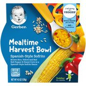 Gerber Mealtime Harvest Bowl, Spanish-Style Sofrito
