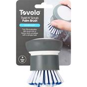 Tovolo Palm Brush, Twist N' Scrub. Double Duty