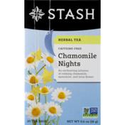 Stash Tea Herbal Tea Chamomile Nights Bedtime Blend Tea