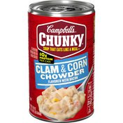 Campbell's® Chunky® Clam & Corn Chowder with Bacon