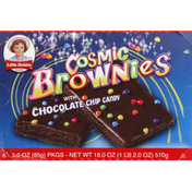 Little Debbie Cosmic Brownies, with Chocolate Chip Candies
