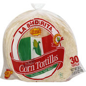 La Banderita Tortillas, Corn, White