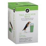 Publix Tall Kitchen Bags, 13-Gallon