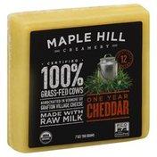 Maple Hill Creamery Cheese, One Year Cheddar
