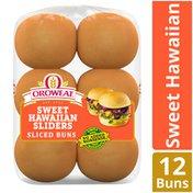 Brownberry/Arnold/Oroweat Sweet Hawaiian Slider Buns