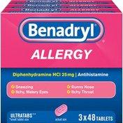 Benadryl Allergy Utab3-48Ct Pk X24Clbtry