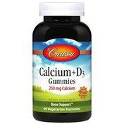 Carlson Labs Calcium + D3 Gummies
