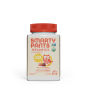 SmartyPants Organic Gummy Kids Multivitamin: Vitamin C, D3 & Zinc for Immunity, Biotin, Omega 3, B6, Methyl B12 for Energy (30 Day Supply)