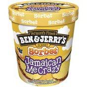 Ben & Jerry's Jamaican Me Crazy Sorbet