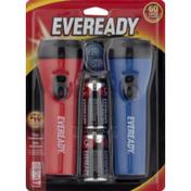 EVEREADY LED Flashlight w/ Batteries