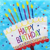Celebrations Napkins, Cake Birthday, 2-Ply