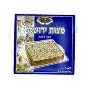 Jerusalem Quality Matzah Kosher for Passover