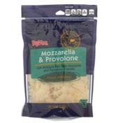 Hy-Vee Mozzarella & Provolone Low-Moisture Part-Skim Mozzarella And Provolone Finely Shredded Cheeses