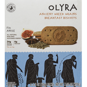 Oyra Breakfast Biscuits, Fig Anise