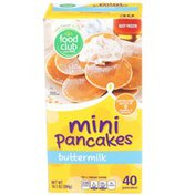 Food Club Buttermilk Mini Pancakes