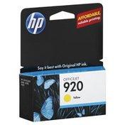 HP Ink Cartridge, OfficeJet Yellow 920