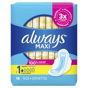 Always Maxi Regular Pads With Wings