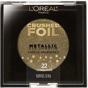 L'Oreal Crushed Foils Metallic 21 Gilded Gold Eye Shadow