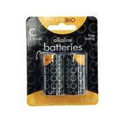 Home 360 C Alkaline Batteries