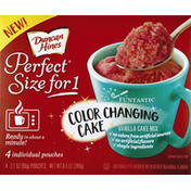 Duncan Hines Cake Mix, Color Changing, Vanilla Cake